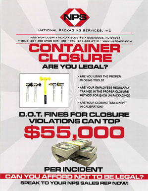Container Closure – Are You Legal