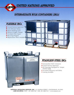 Intermediate Bulk Containers (IBC'S)
