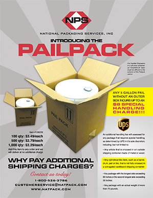 Pail Pack Cover
